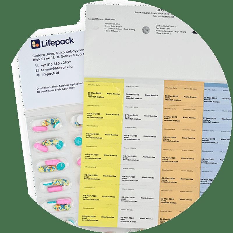 Kemasan Obat Lifepack