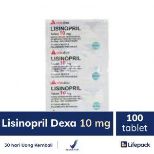 Lisinopril Dexa 10 mg