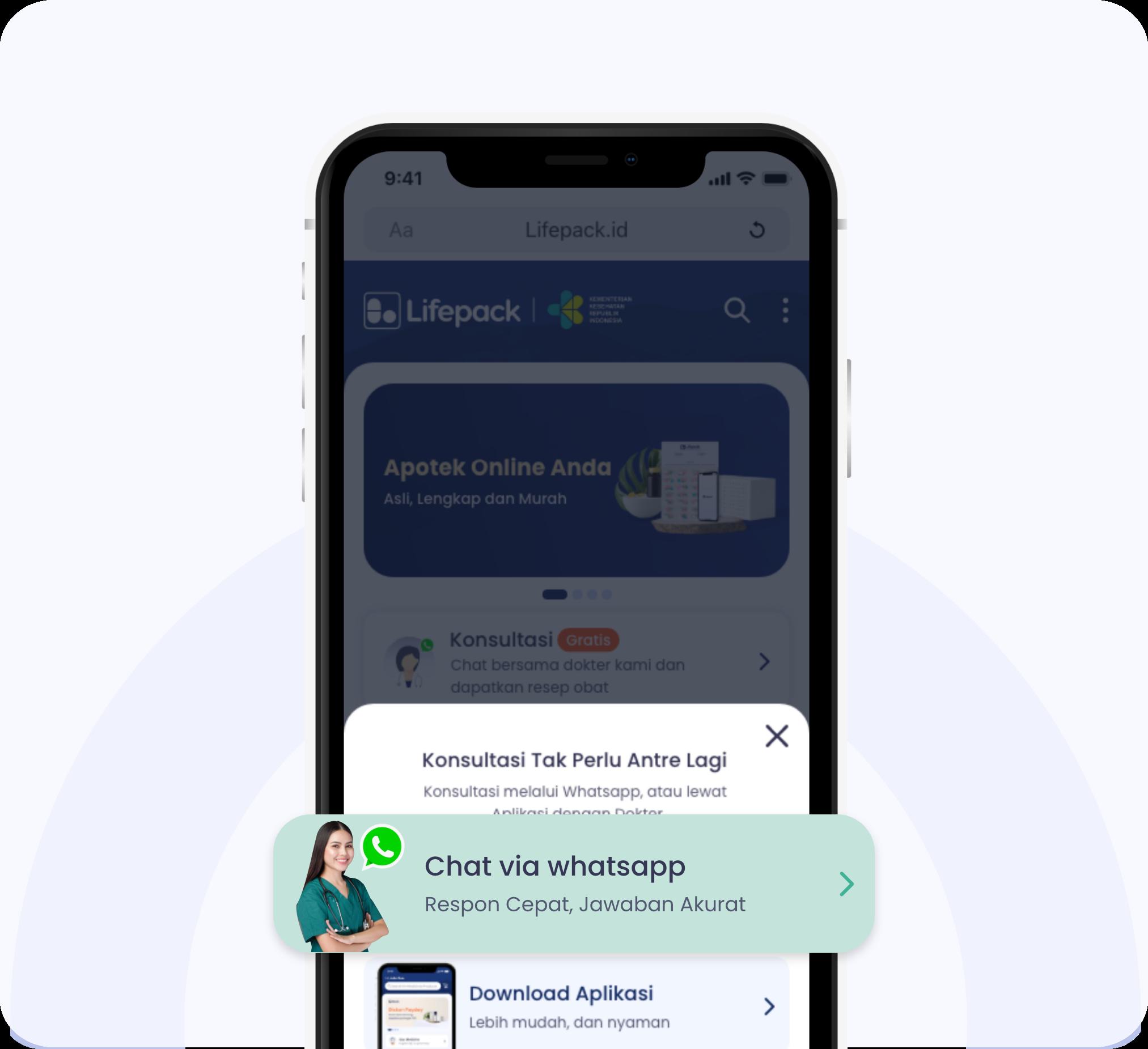 Tata Cara Tebus Obat Via Whatsapp Step 2