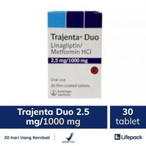 trajenta duo 2.5 mg/1000 mg