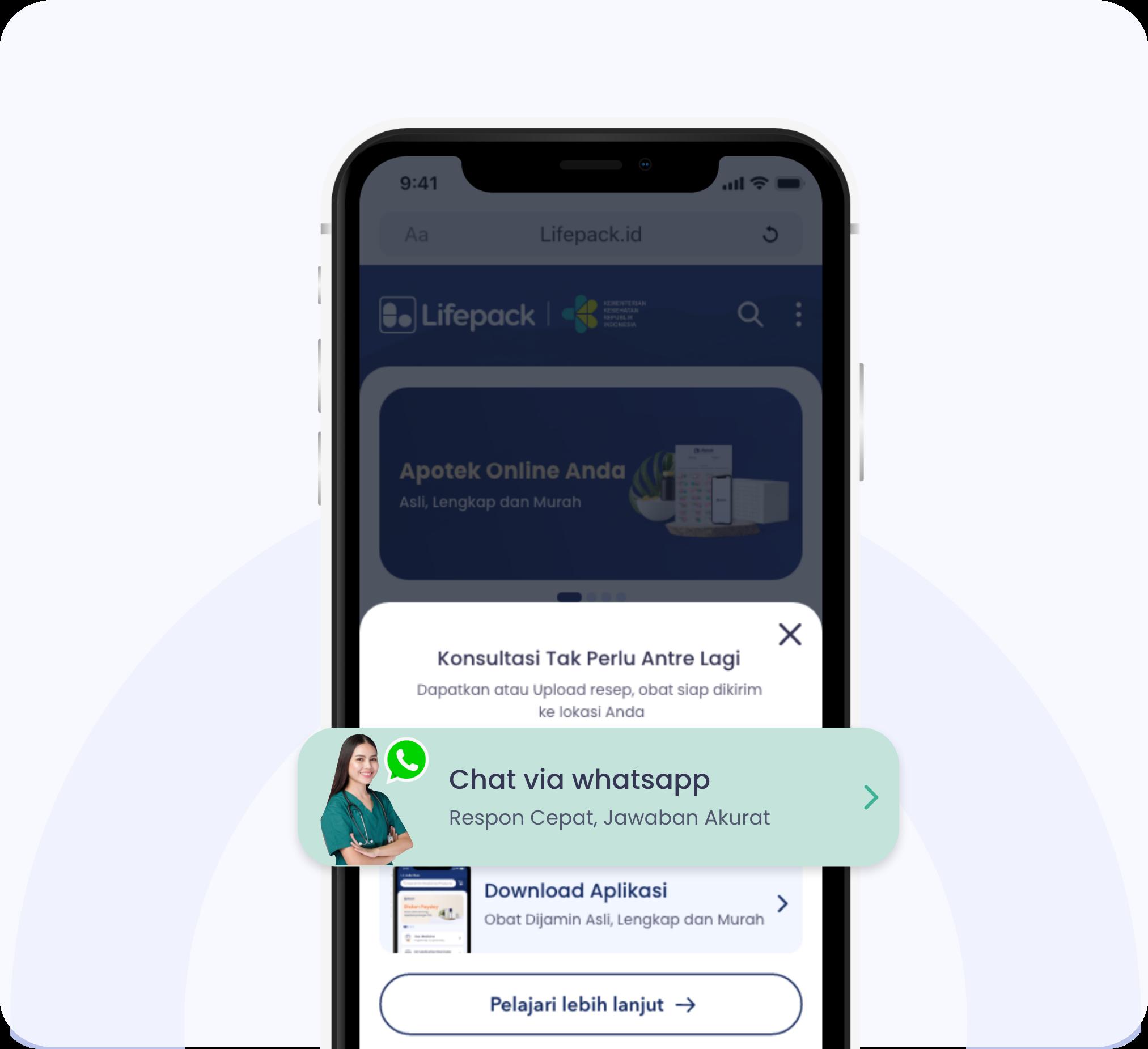Tata Cara Konsultasi Via Whatsapp