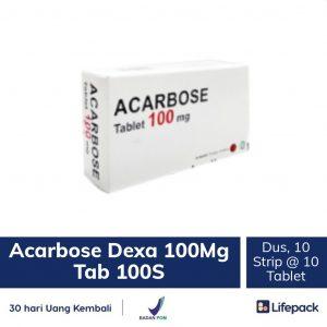 Acarbose Dexa 100 mg