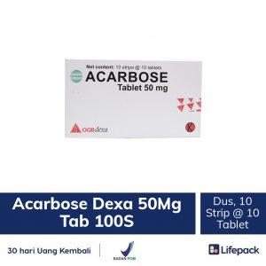 Acarbose Dexa 50 mg