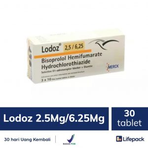 Lodoz 2.5 mg/6.25 mg