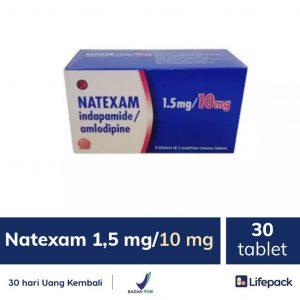 Natexam 1.5 mg/10 mg