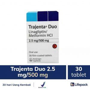 trajenta duo 2.5 mg-500 mg