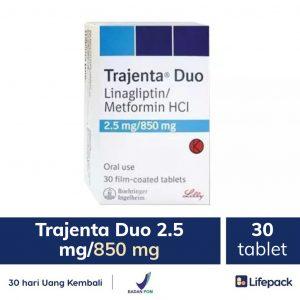 trajenta duo 2.5 mg-850 mg