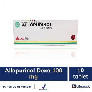 allopurinol-dexa