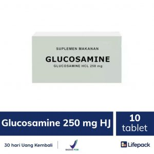 Glucosamine 250 mg HJ