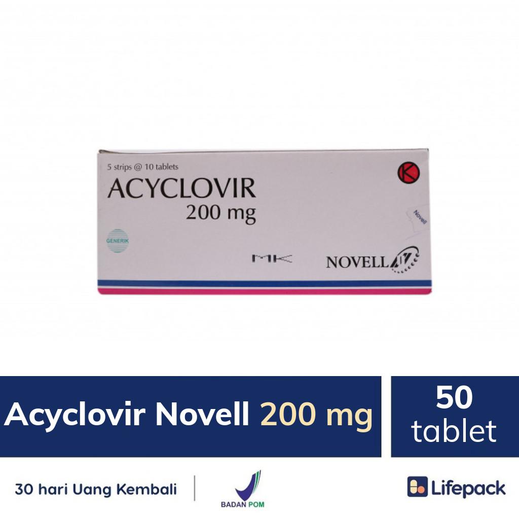 Acyclovir Novell 200 mg - Lifepack.id