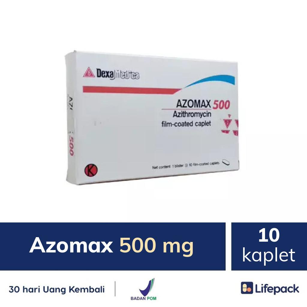 Azomax 500 mg - Lifepack.id