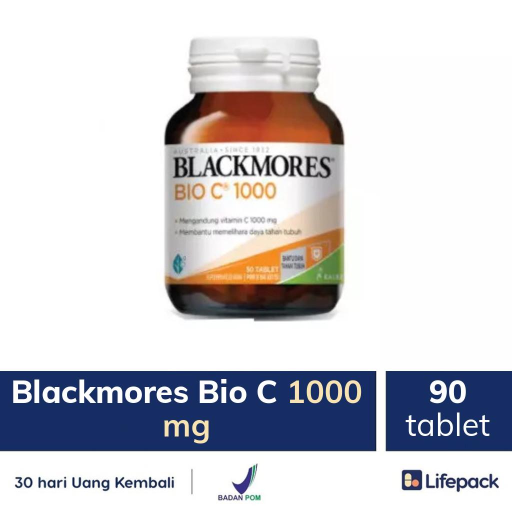Blackmores Bio C 1000 mg - Lifepack.id