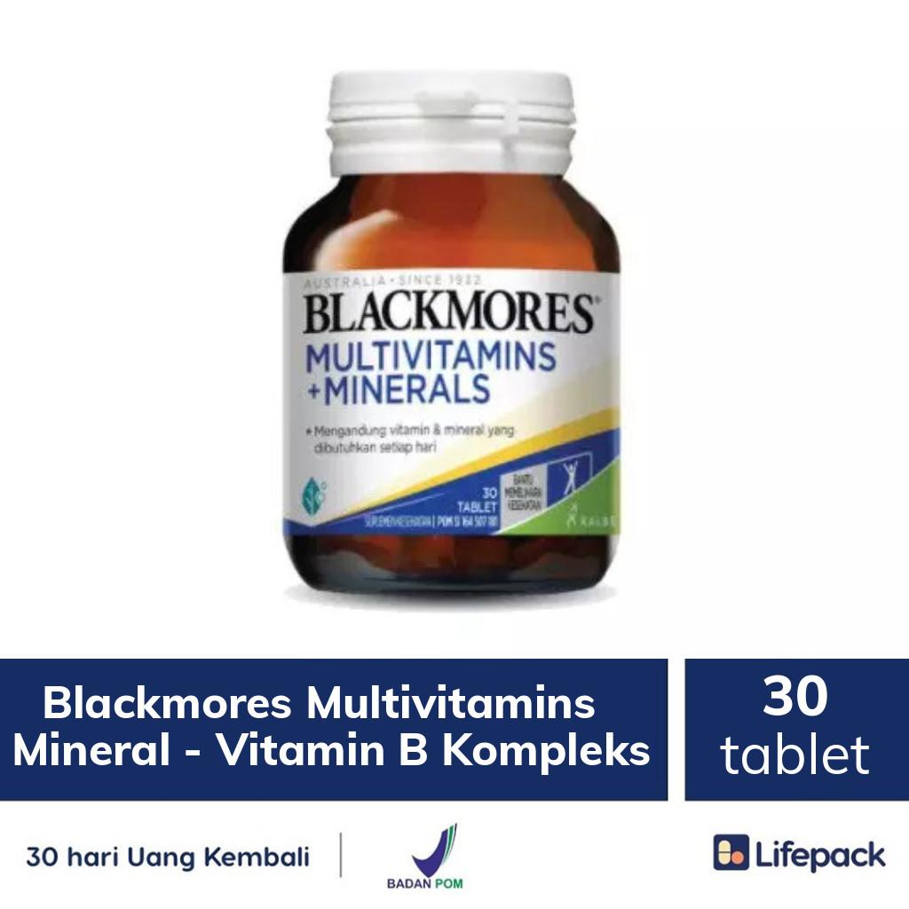 Blackmores Multivitamins + Mineral - Vitamin B Kompleks - Lifepack.id