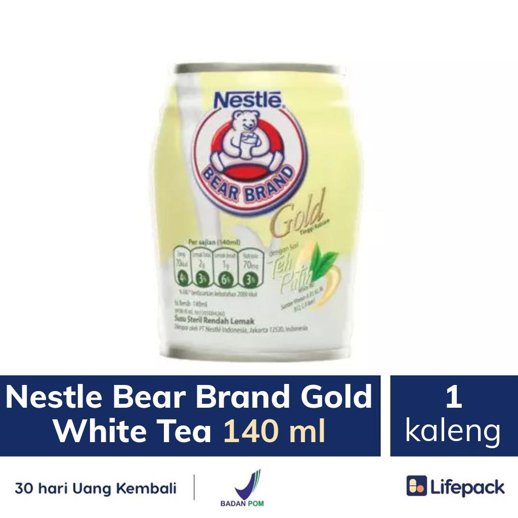 Nestle Bear Brand Gold White Tea 140 ml - Lifepack.id
