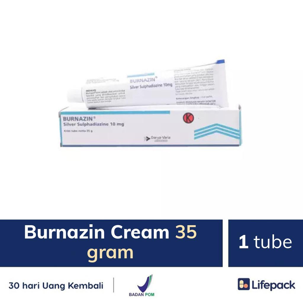 Burnazin Cream 35 gram - Lifepack.id
