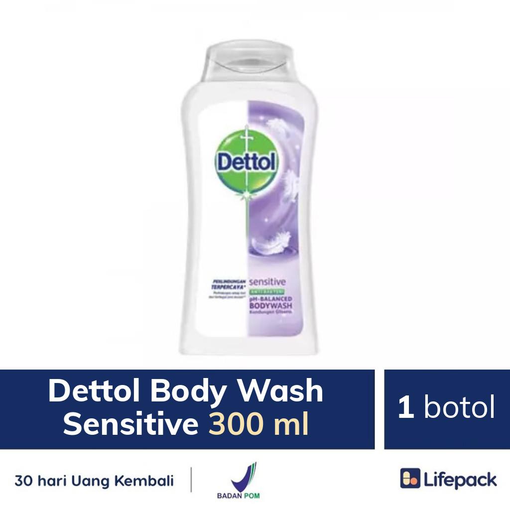 Dettol Body Wash Sensitive 300 ml - Lifepack.id