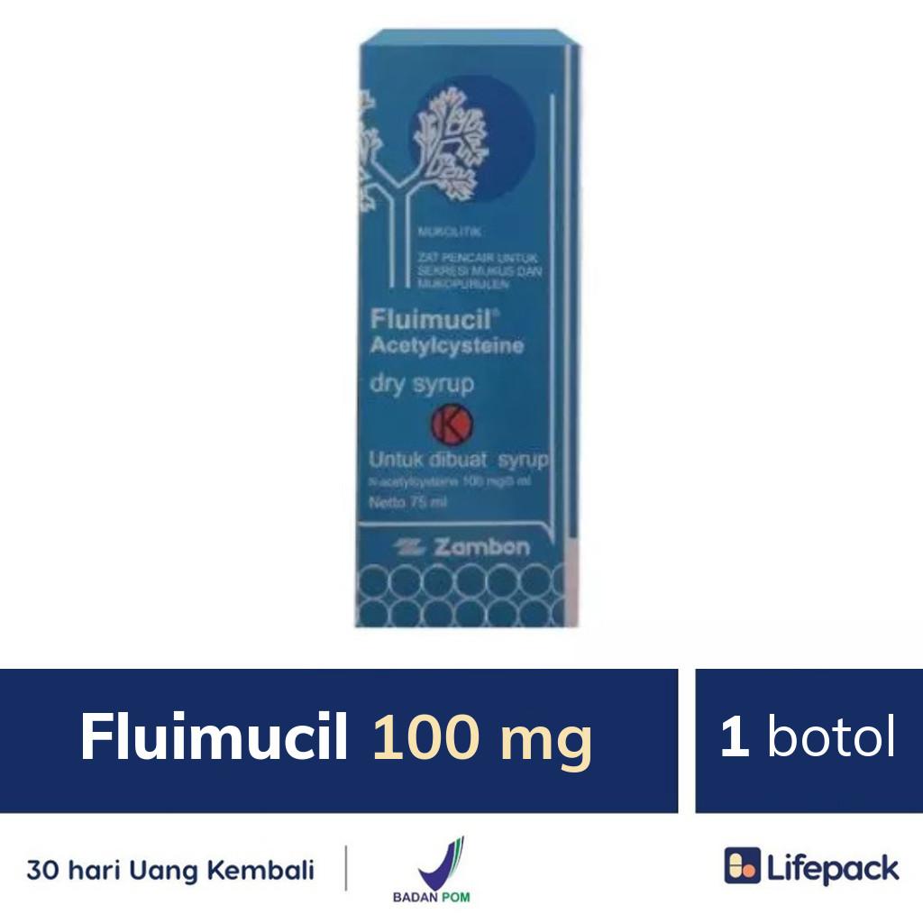 Fluimucil 100 mg - Lifepack.id