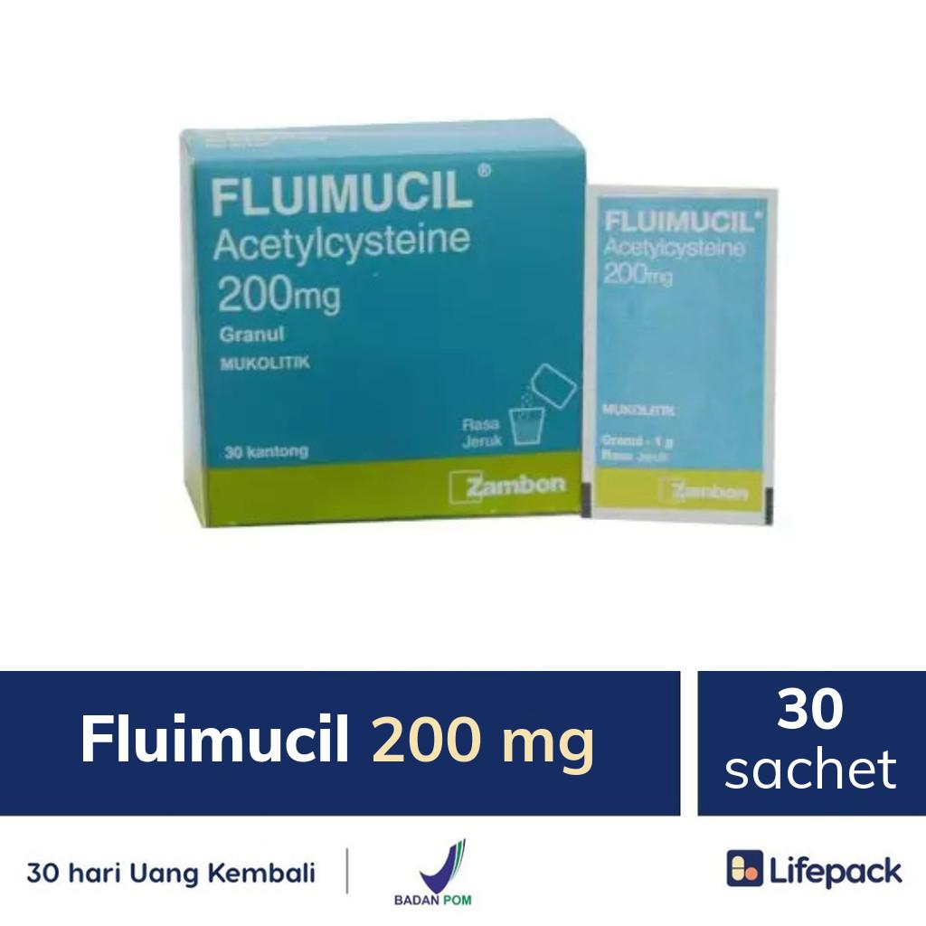 Fluimucil 200 mg - Lifepack.id