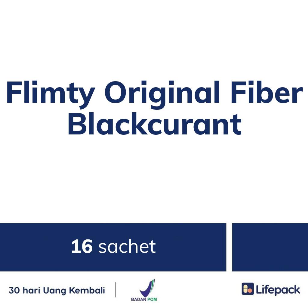 Flimty Original Fiber Blackcurant - Lifepack.id