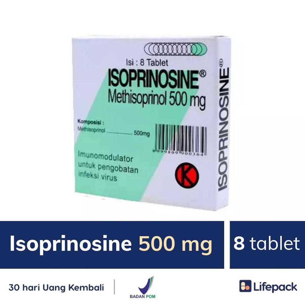 Isoprinosine 500 mg - Lifepack.id