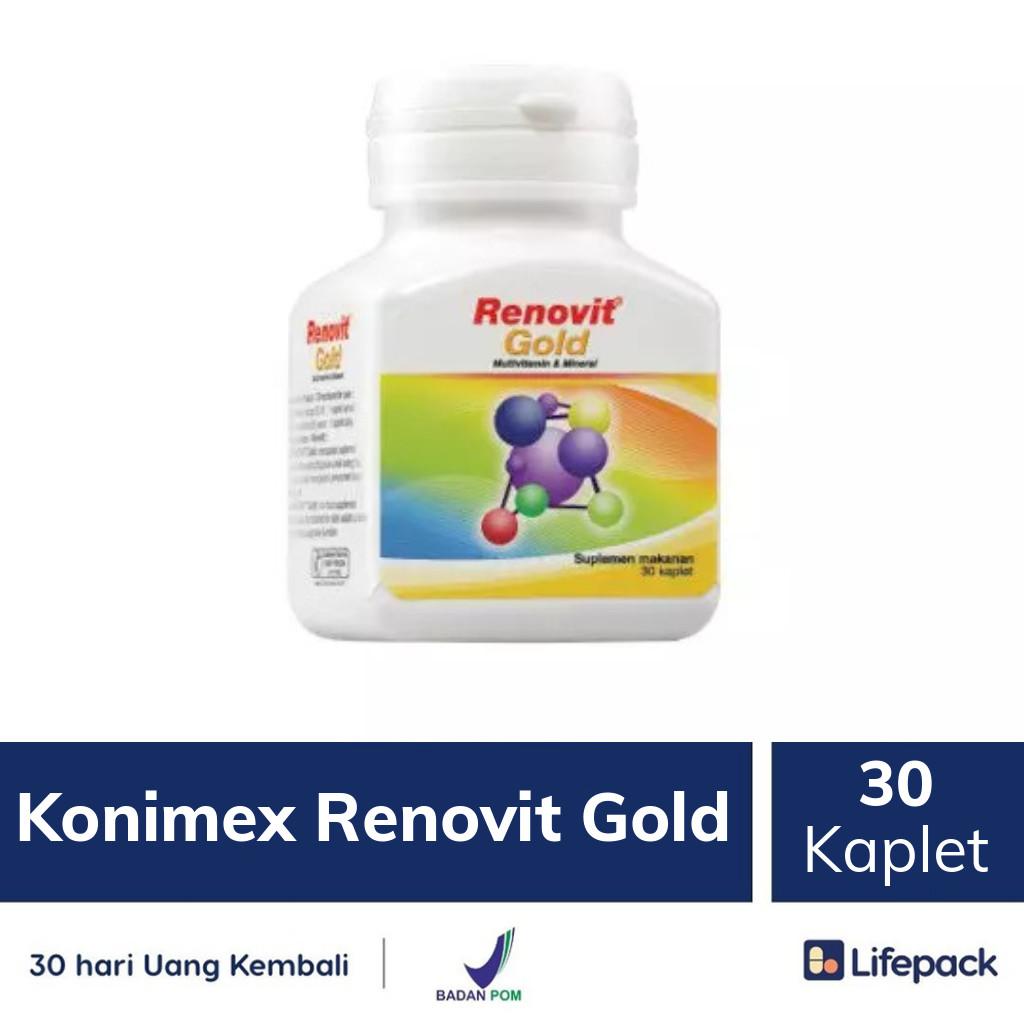 Konimex Renovit Gold - Lifepack.id