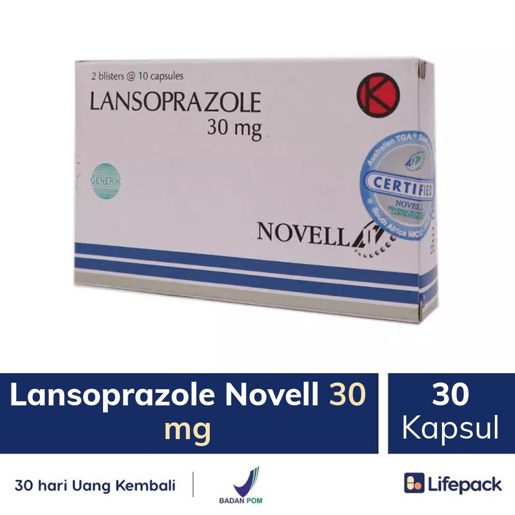 Lansoprazole Novell 30 mg - Lifepack.id