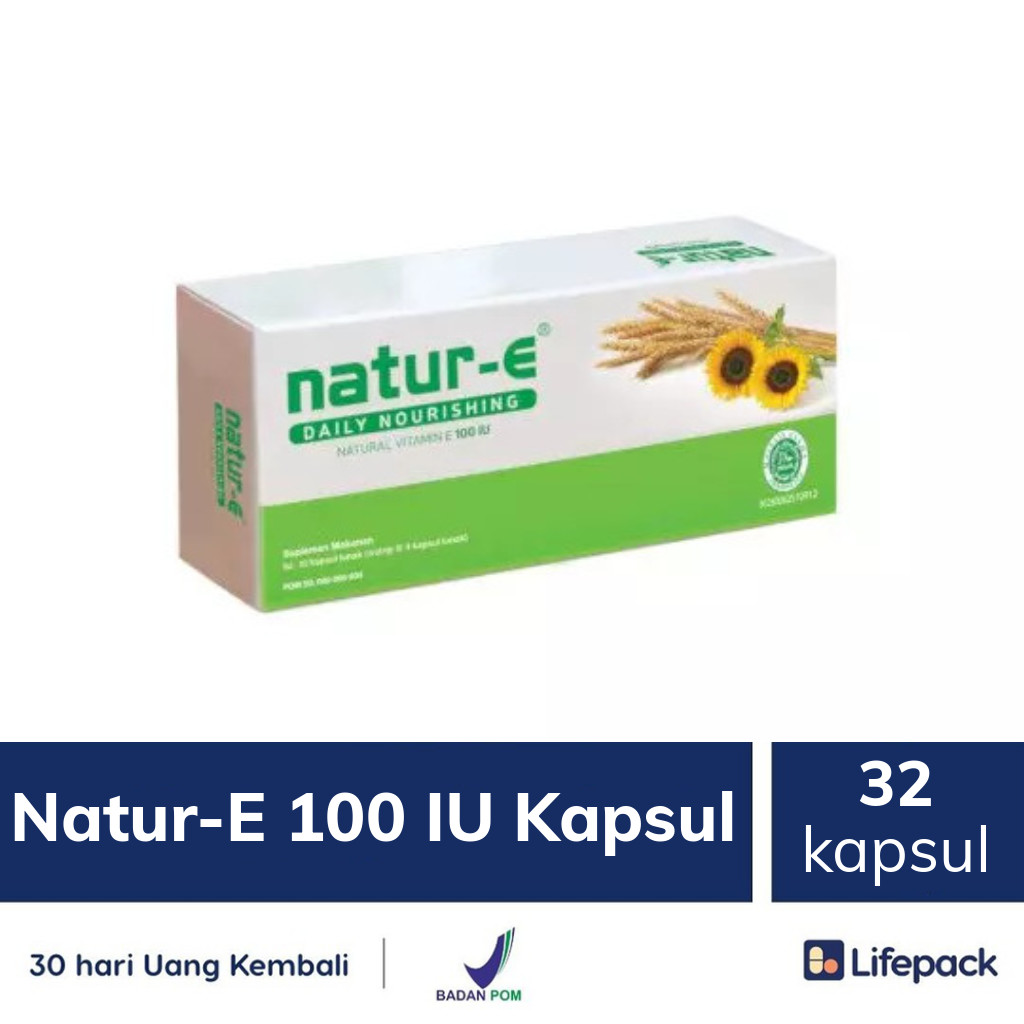 Natur-E 100 IU Kapsul - Lifepack.id