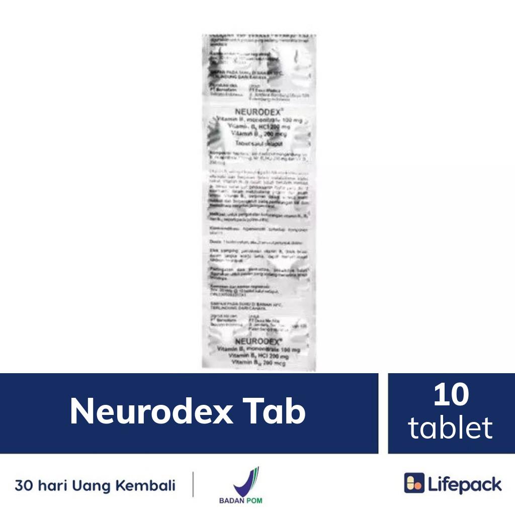 Neurodex Tab - Lifepack.id