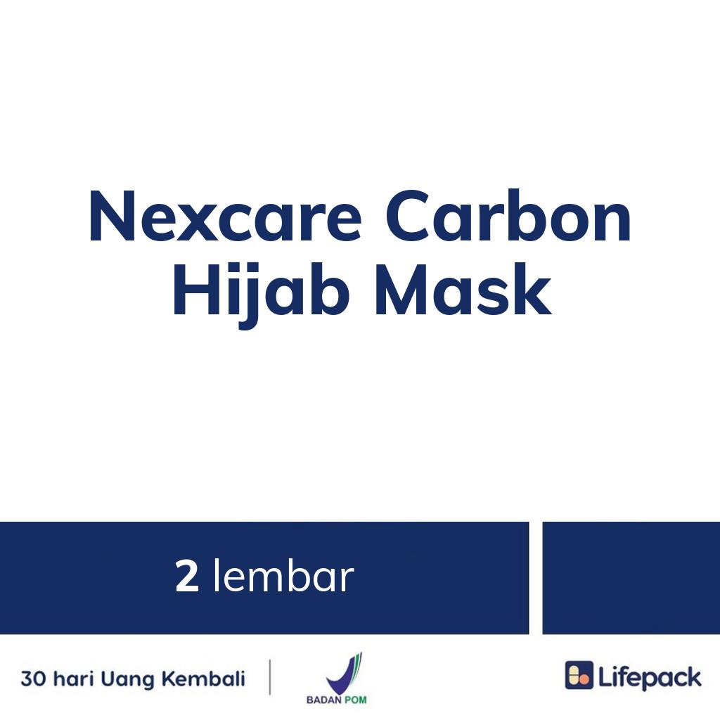 Nexcare Carbon Hijab Mask - Lifepack.id
