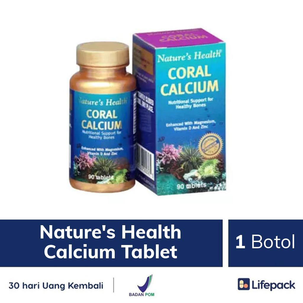 Nature's Health Calcium Tablet - Lifepack.id