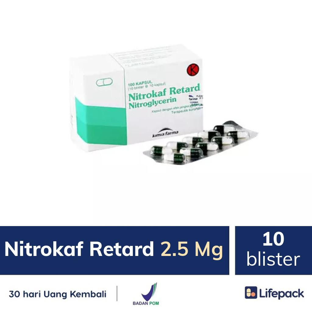 Nitrokaf Retard 2.5 Mg - Lifepack.id