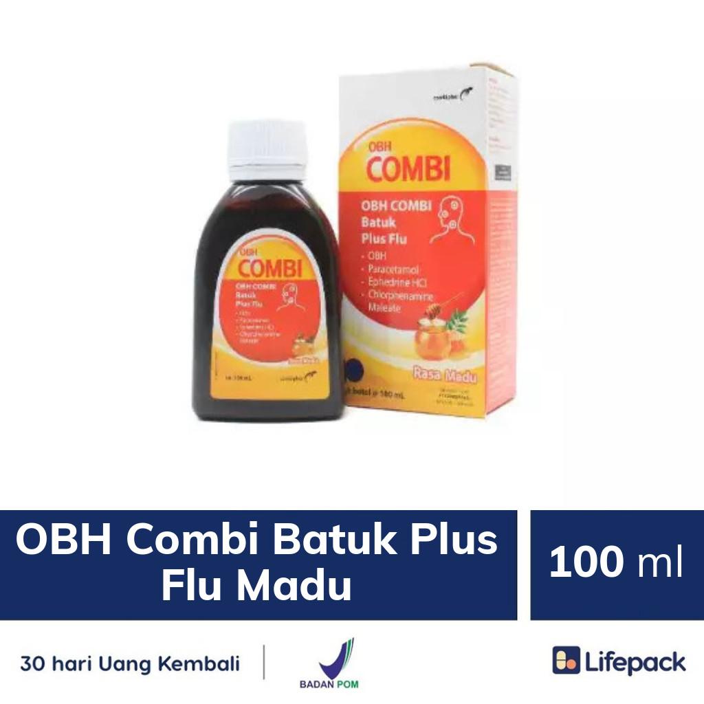OBH Combi Batuk Plus Flu Madu - Lifepack.id