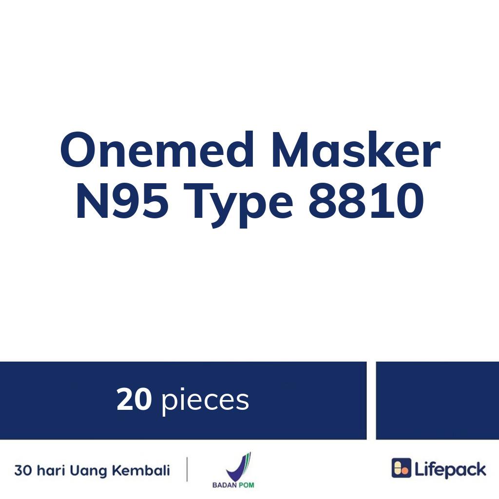 Onemed Masker N95 Type 8810 - Lifepack.id