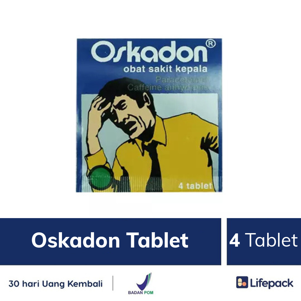 Oskadon Tablet - Lifepack.id