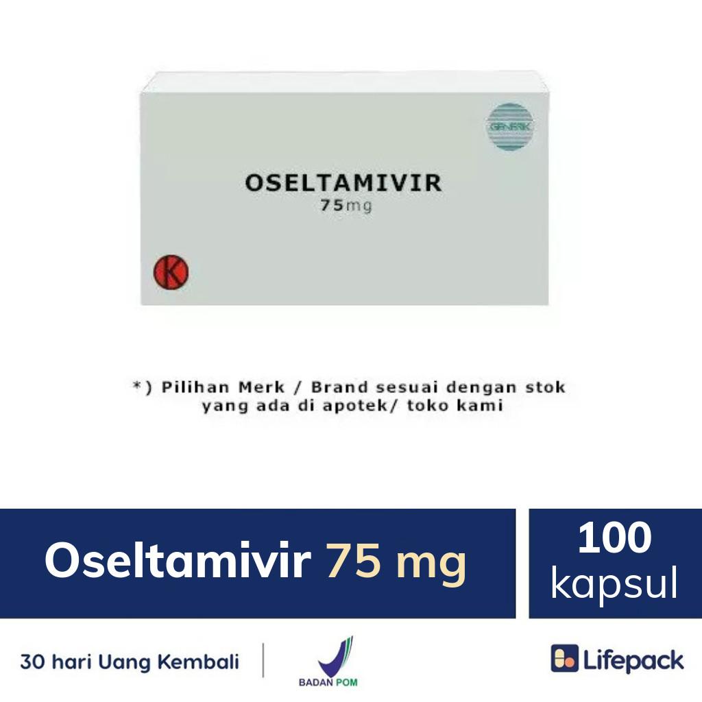 Oseltamivir 75 mg - Lifepack.id