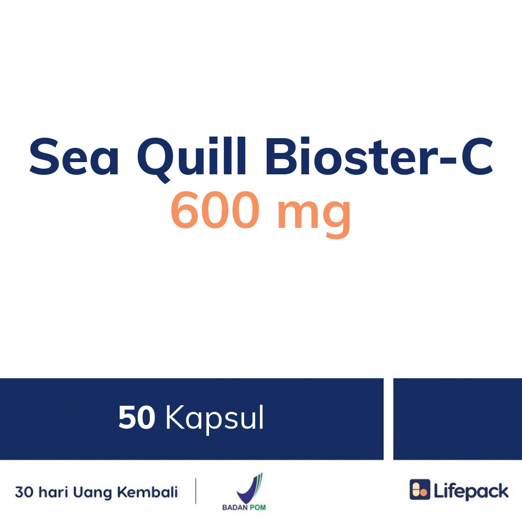 Sea Quill Bioster-C 600 mg - Lifepack.id