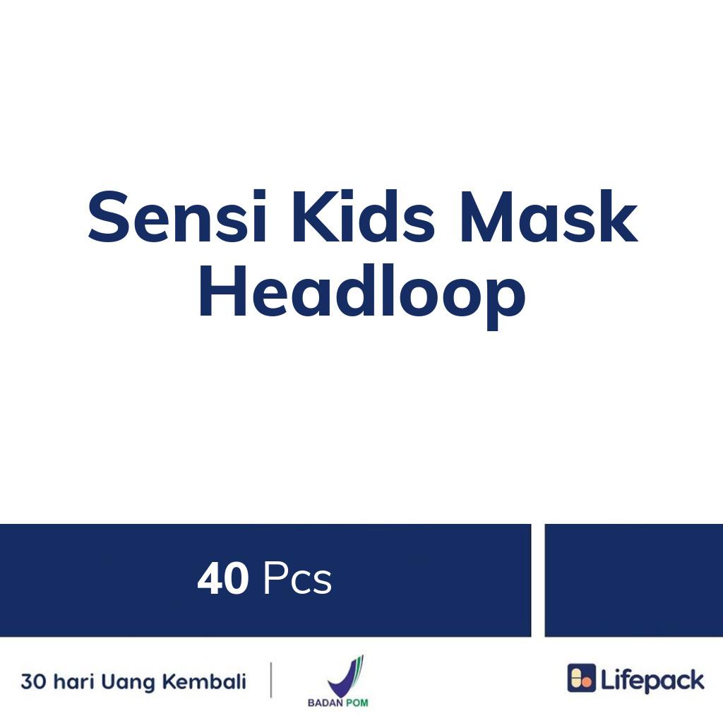 Sensi Kids Mask Headloop - Lifepack.id