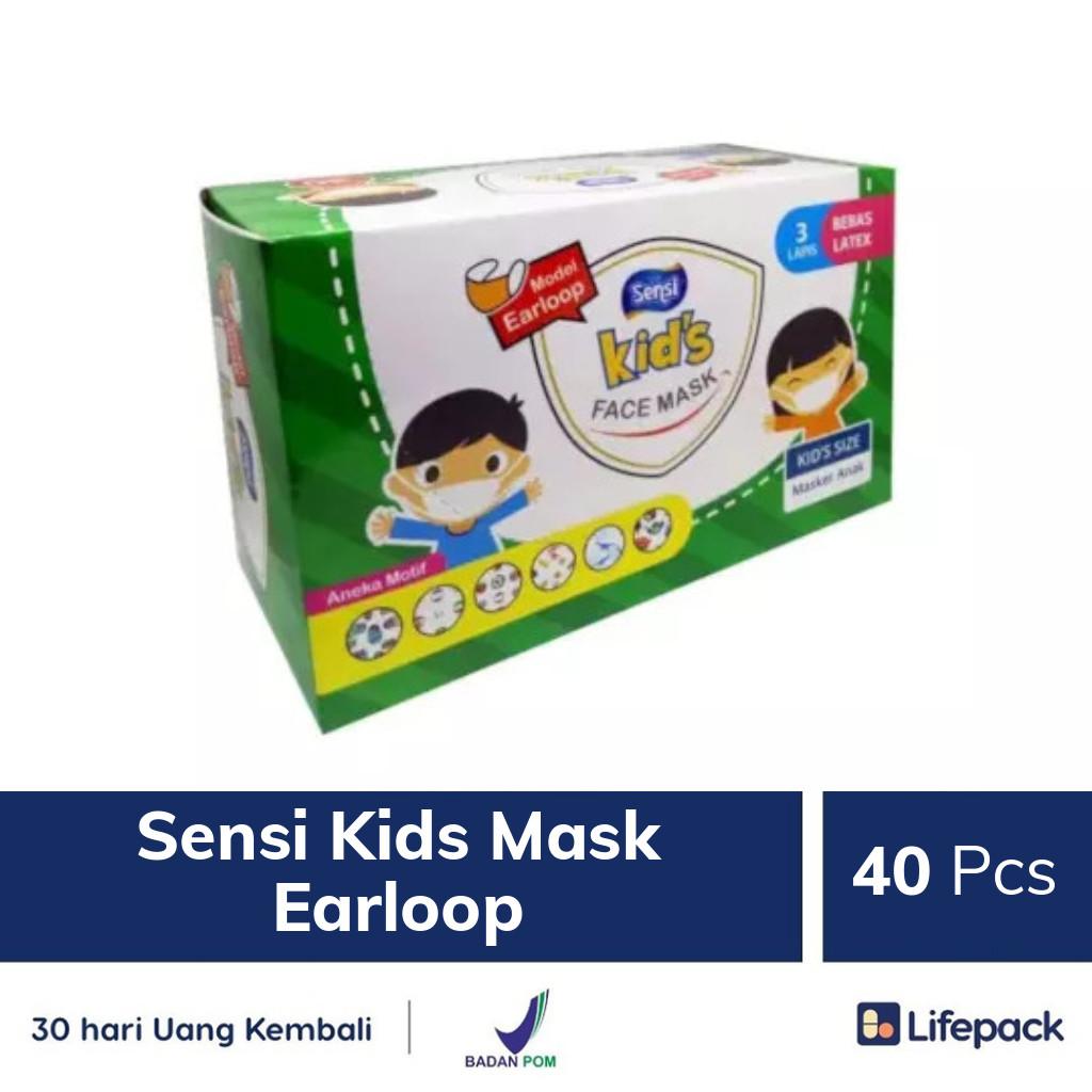 Sensi Kids Mask Earloop - Lifepack.id