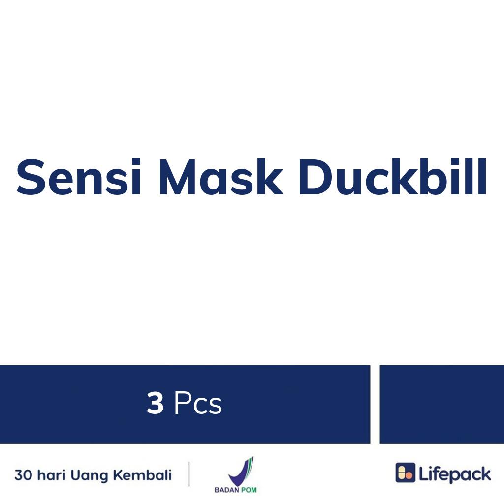 Sensi Mask Duckbill - Lifepack.id