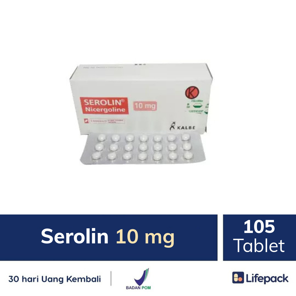 Serolin 10 mg - Lifepack.id