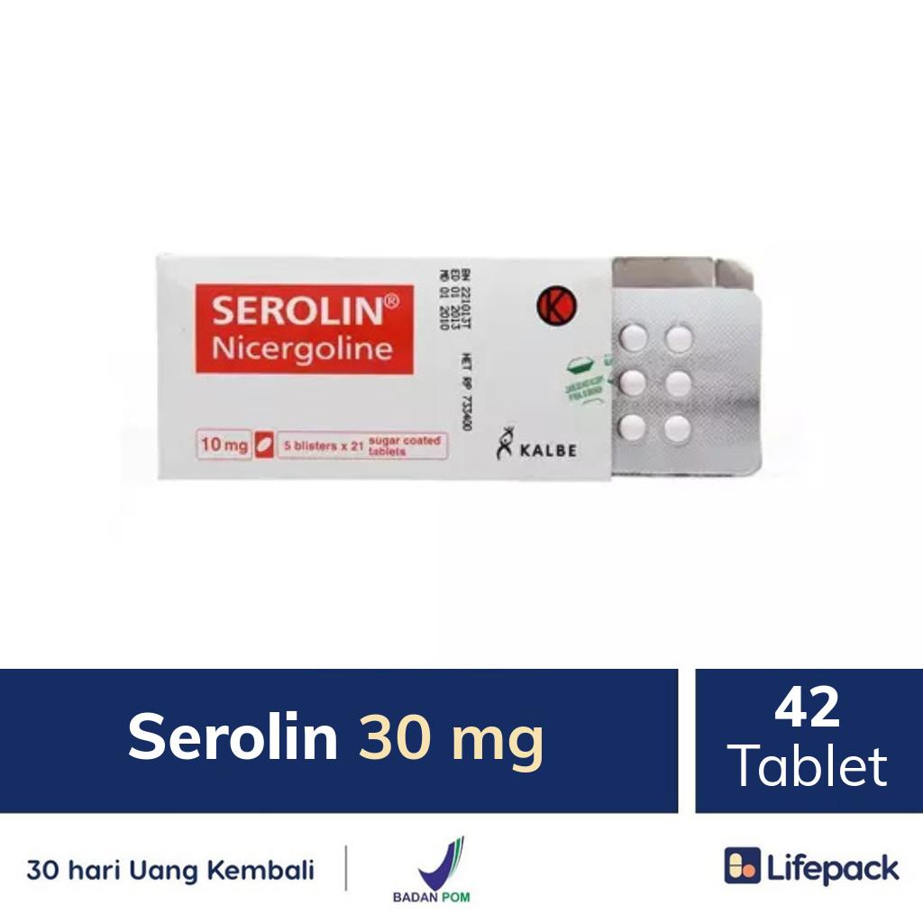 Serolin 30 mg - Lifepack.id