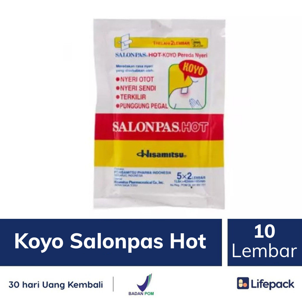 Koyo Salonpas Hot - Lifepack.id